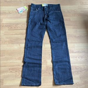 NWT Naked & Famous Slim Guy Dark Wash Jeans 30